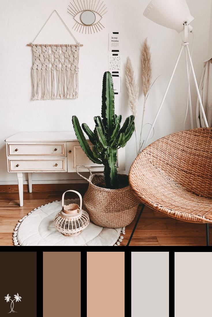 Cozy Warm Neutral Hideout Color Palette Color Palette