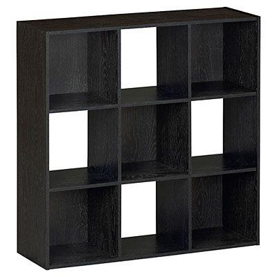 Ameriwood System Build 9 Cube Black Storage Cubby At Big Lots 39 99