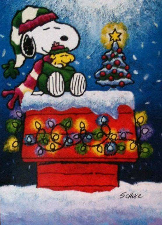 Snoopy loves Christmas