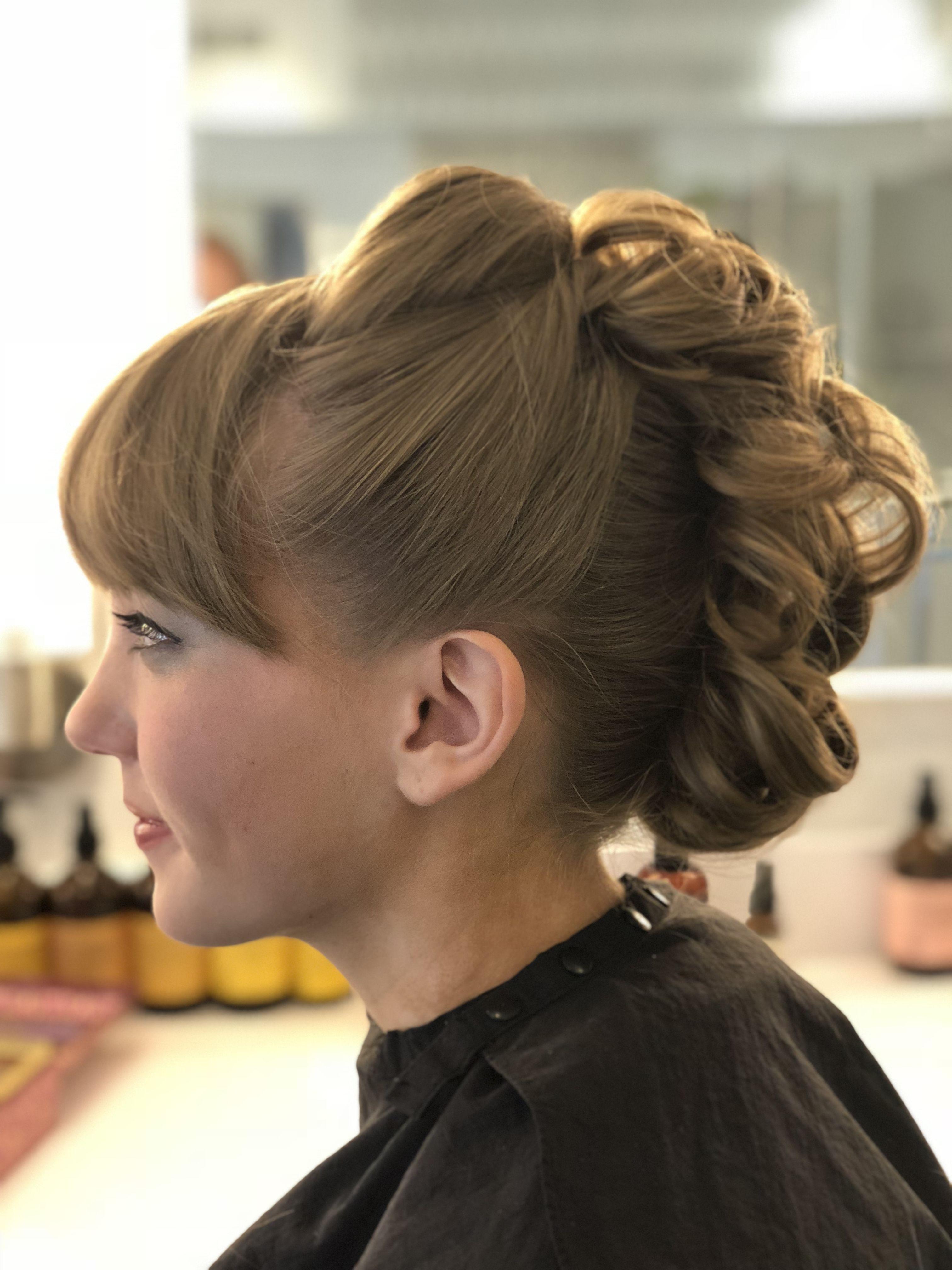 Prom style updo mohawk hair maureenus marvelous makeovers