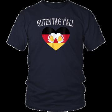 586cf47f Guten Tag Y'all Prost Bavaria Oktoberfest Yall T-Shirt | Guten Tag Y ...