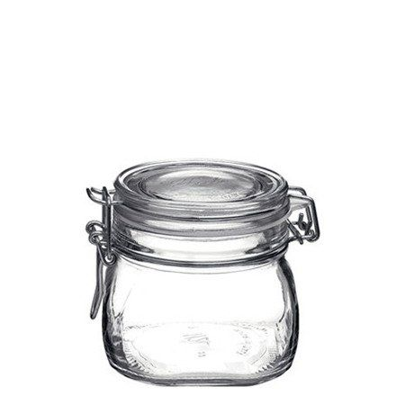 6 le parfait french glass storage jars with wire