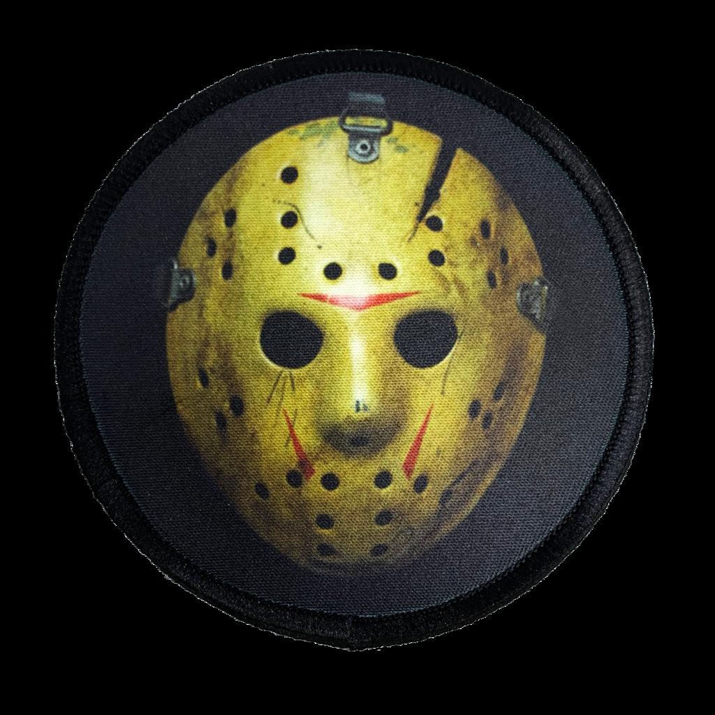Friday The 13th Part 8 Jason Hockey Mask Iron On Patch Iron On Patches Patches Hockey Mask