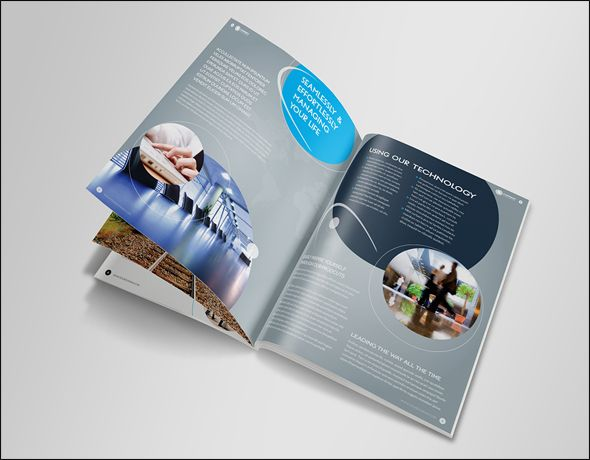 Free Premium Corporate Brochure Design Templates Corporate - Free indesign brochure templates download