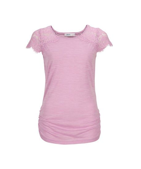 Lace Shoulder Tee   Rickis - must purchase, love everything!