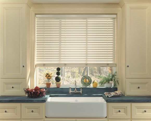 variety in kitchen window treatments | home designs | kitchen