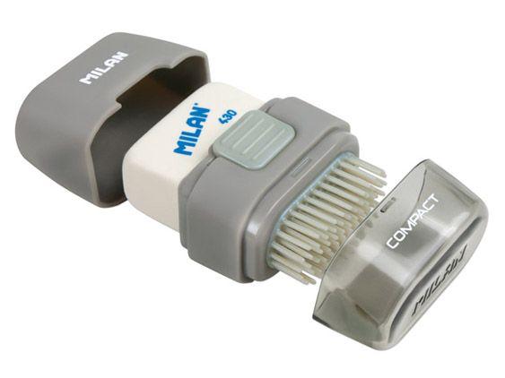Borracha com escova Eraser&Brush Compact Milan
