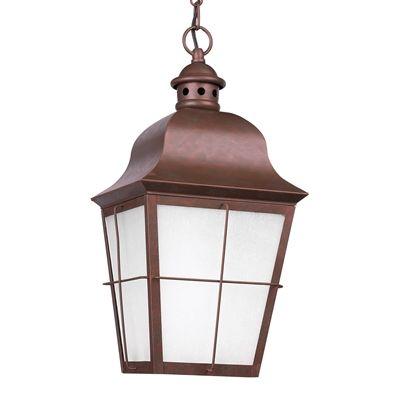 Sea Gull Lighting 69272EN-4 1-Light Fluorescent Chatham Outdoor Pendant