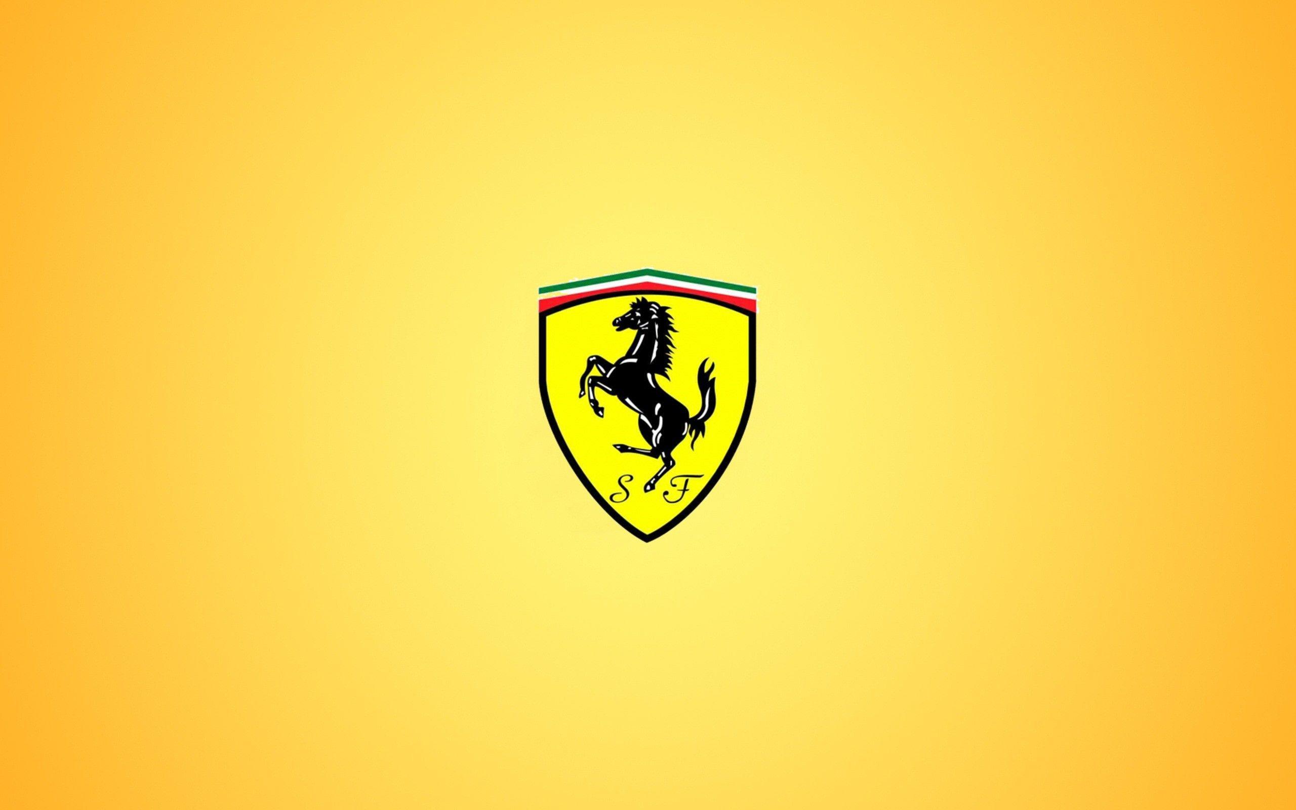 Ferrari Wallpapers Logo Wide Ferrari Logo Logo Wallpaper Hd Background Hd Wallpaper