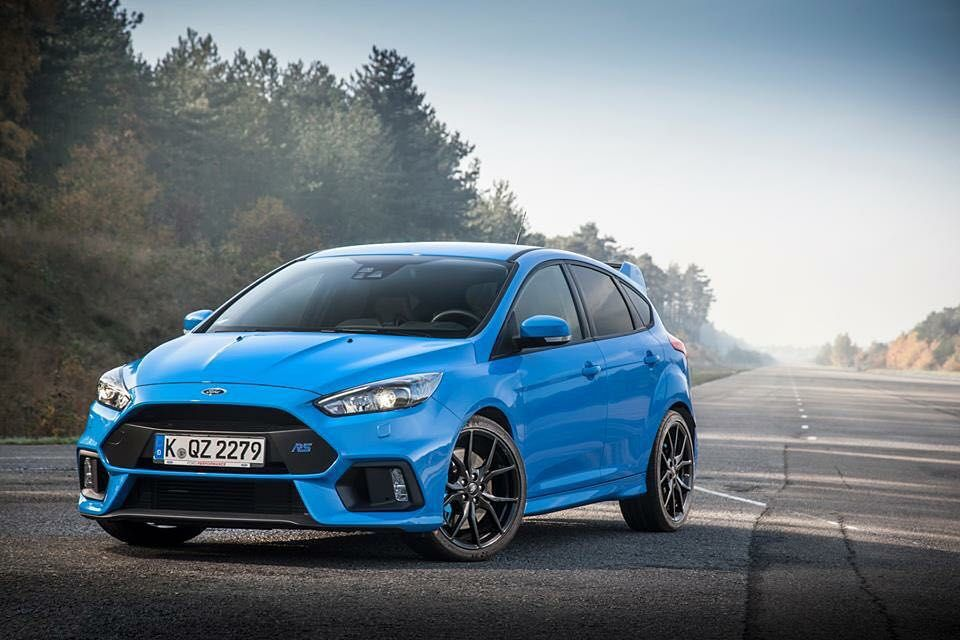So We Ordered A Nitrous Blue Ford Focus Ford Focus Rs Focus Rs