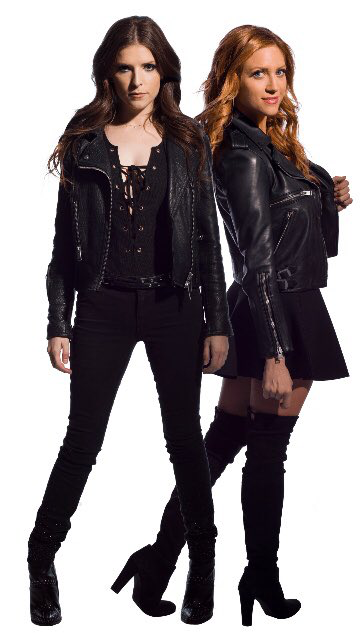 Anna Knedrick And Brittany Snow Anna Kendrick Pitch Perfect Pitch Perfect Outfits Pitch Perfect