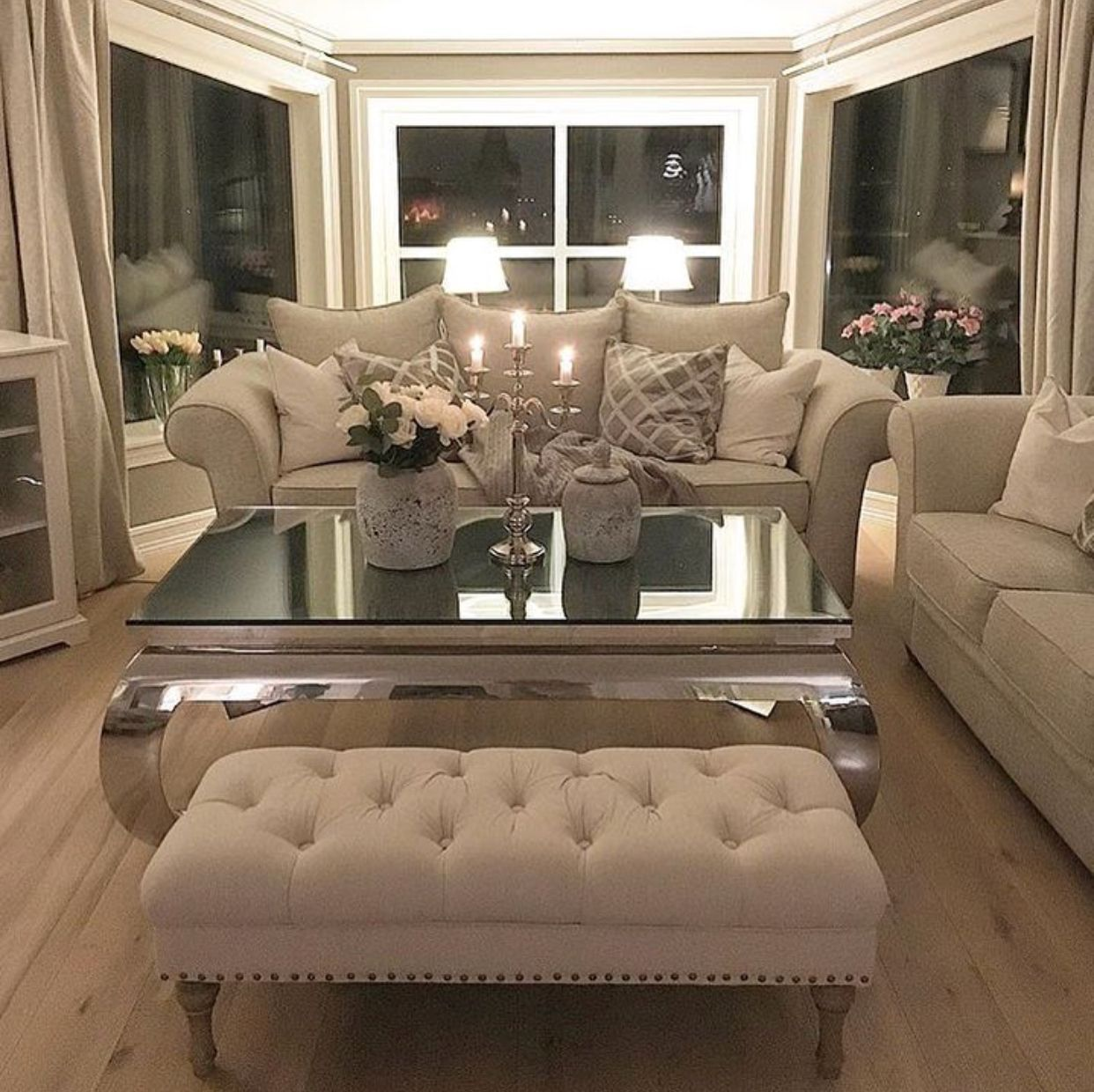 Pin On Home Decor #white #cozy #living #room