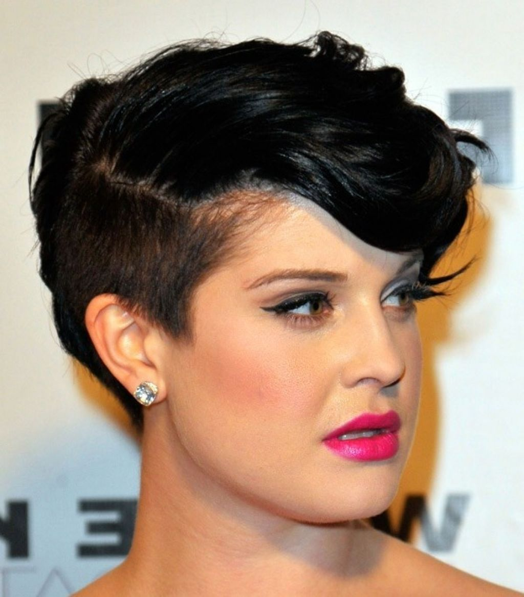 short one side mohawk haircut african american 40's and