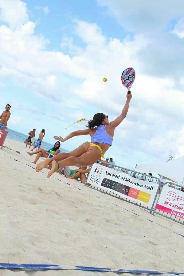 Beach Tennis Will It Catch On Beach Tennis Outdoor Workouts Beach Sports