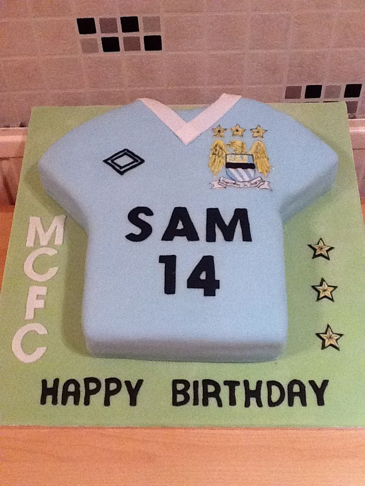 Man City Shirt Cake Shirt Cake City Cake Cake Creations