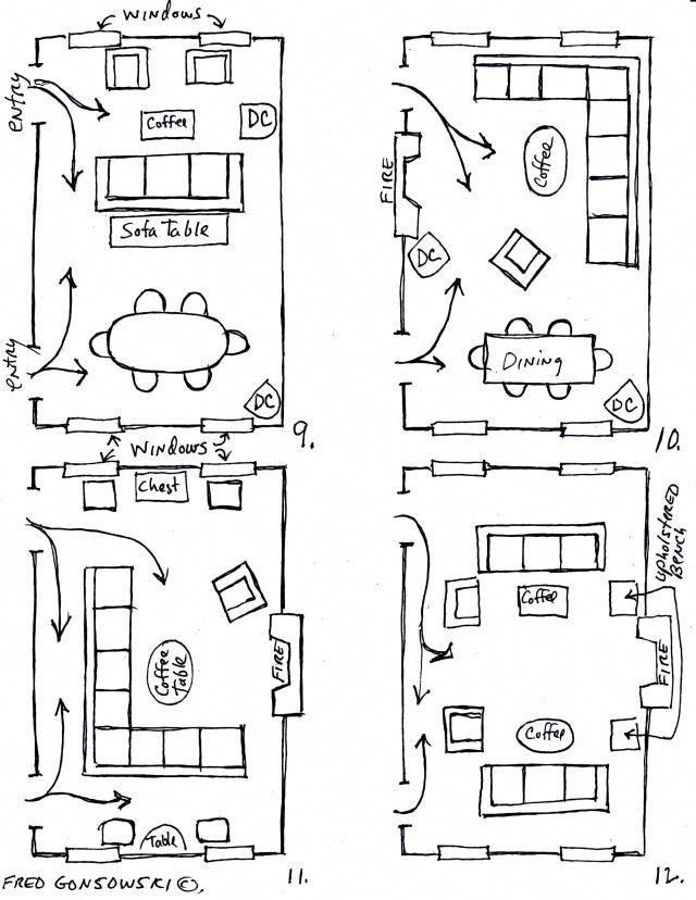 Living Room Dining Room Combo Livingroomfurniturelayoutfloorplan