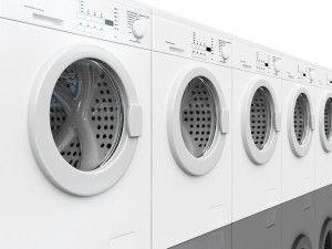coin op washing machine trick