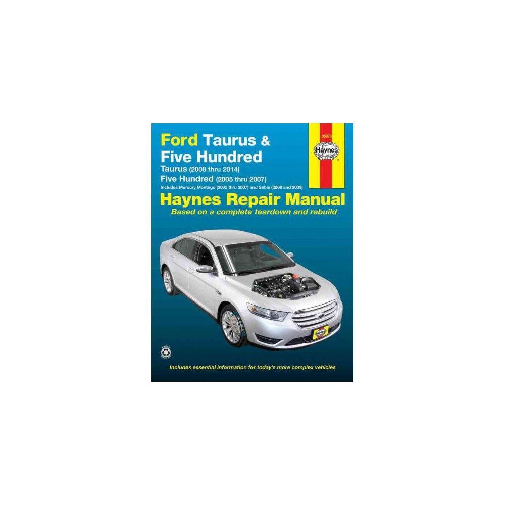 ford taurus five hundred mercury montego sable automotive repair rh pinterest com 2005 Ford Five Hundred Manual Kelly Blue Book 2005 Ford Five Hundred Limited