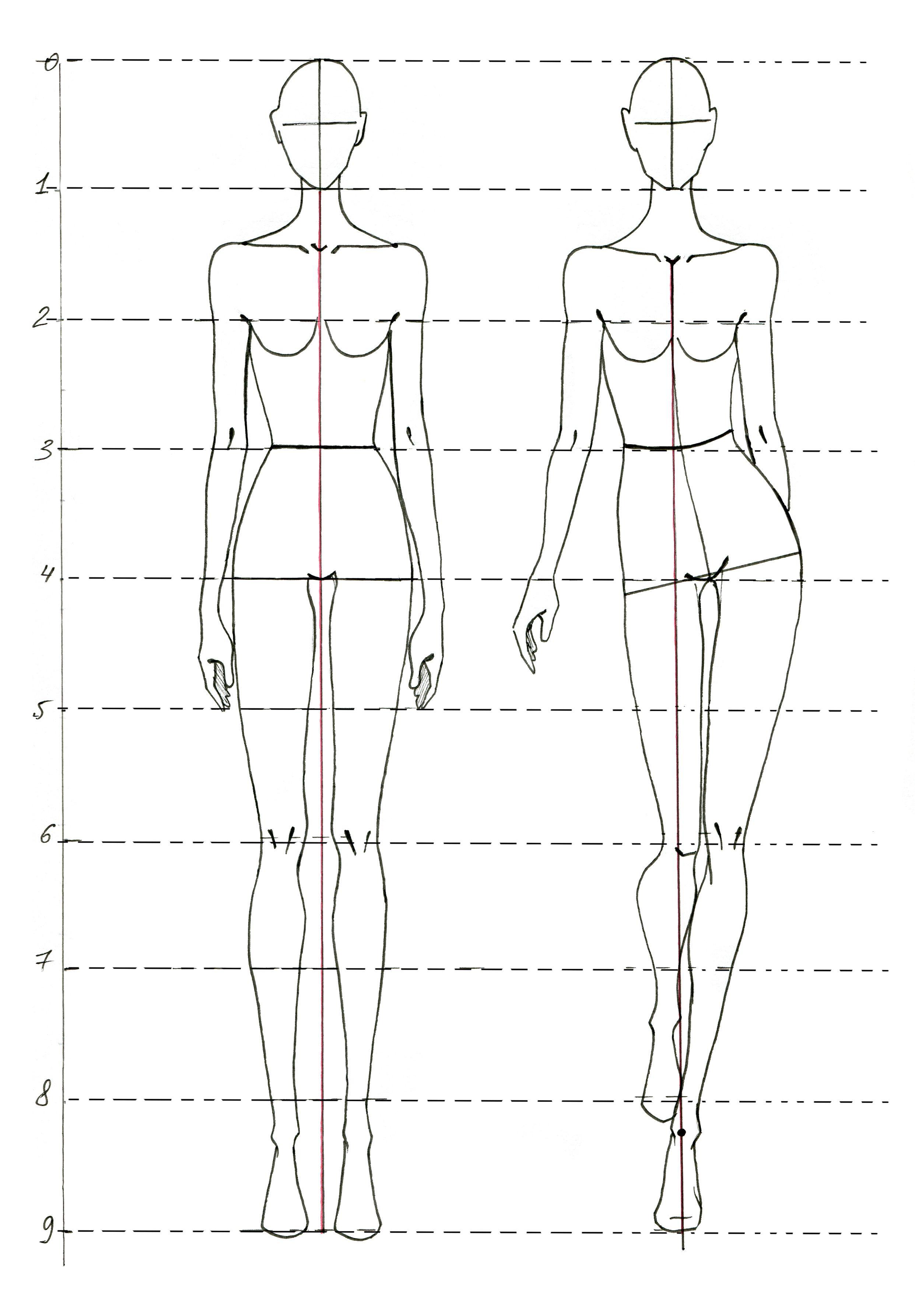 Modul 1 Feshn Figura Illustration Fashion Design Fashion Figure Drawing Fashion Design Sketches