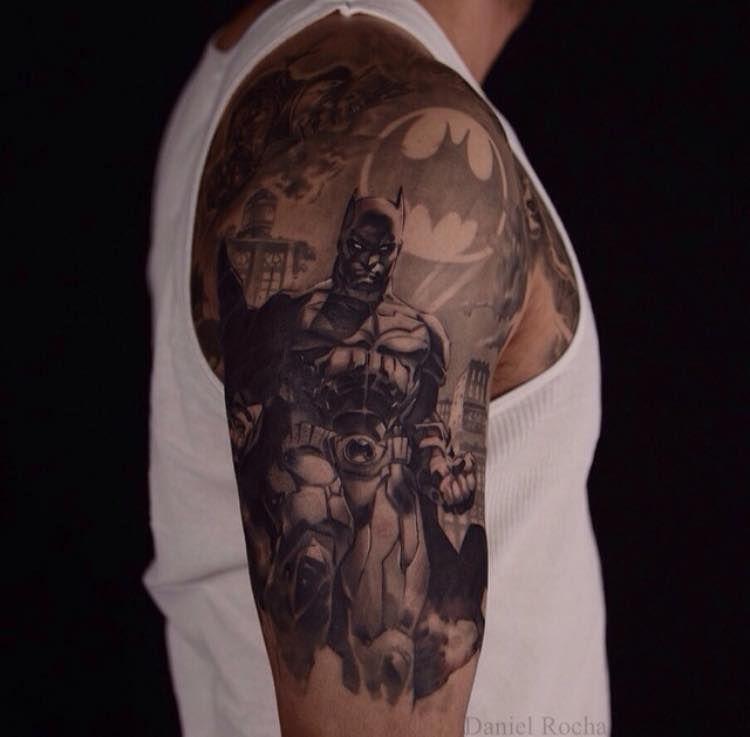 28 Batman Tattoos for Batman Day! | Batman tattoo, Tattoos ...