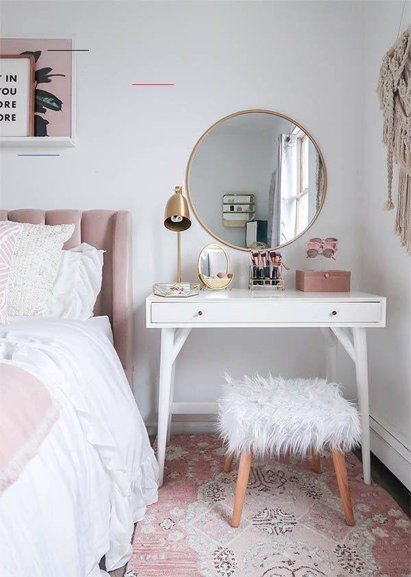 15 Super Cool Vanity Ideas For Small Bedrooms schminktisch. wieder andere... - #smallbedroominspirations