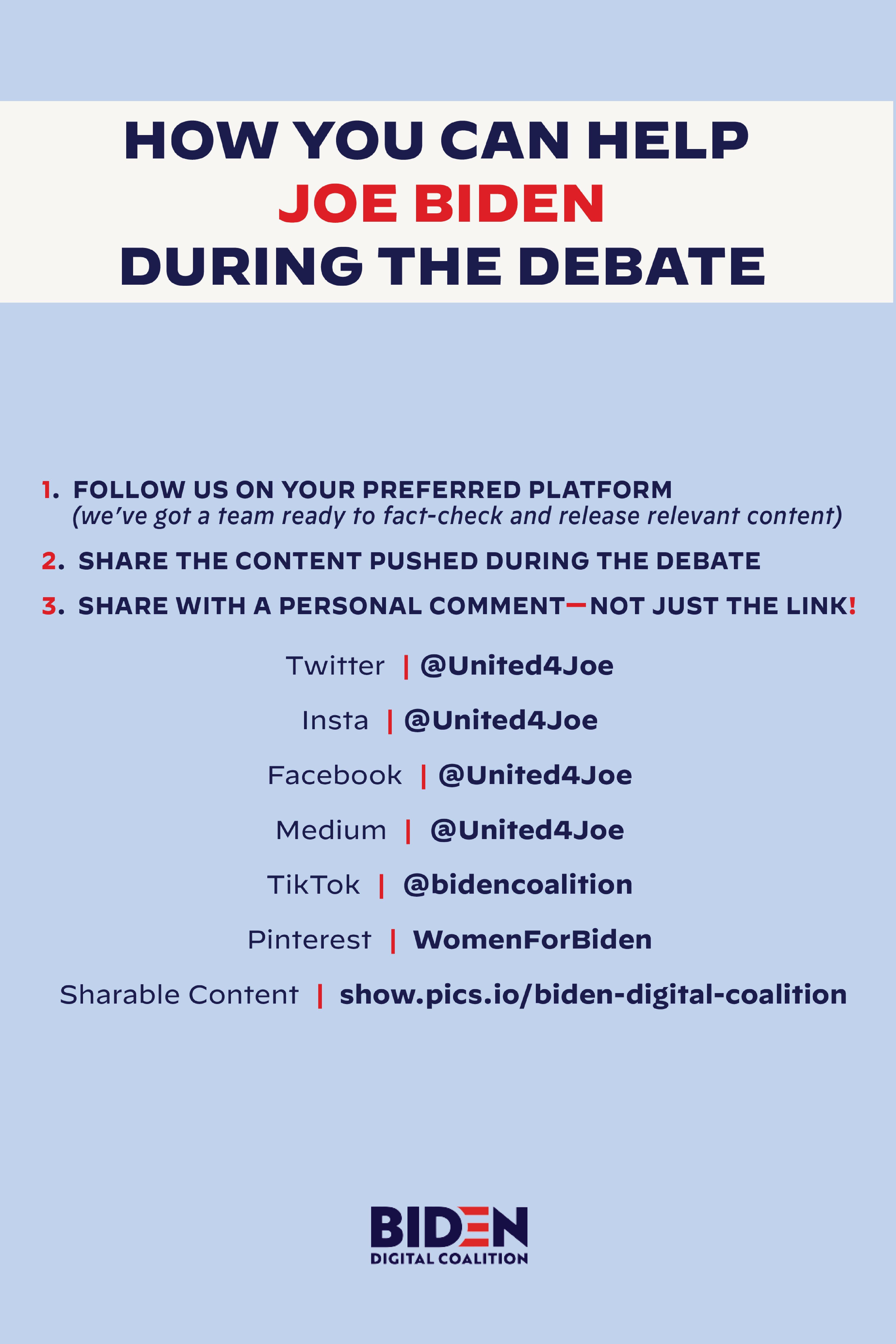 Pin By Women For Biden On 2020 Debates Debate Insta Me Facts