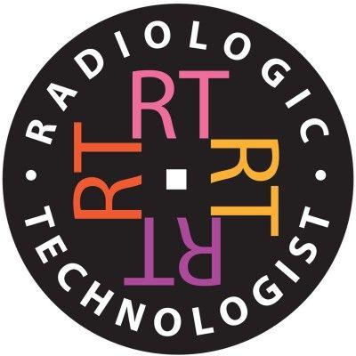 Rt Radiologic Technologist Round Car Magnet