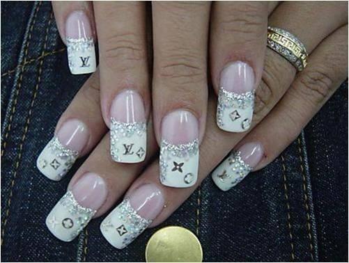 Unas Decoradas Acrilico Gel Pretty Nails Nail Art Fun Nails