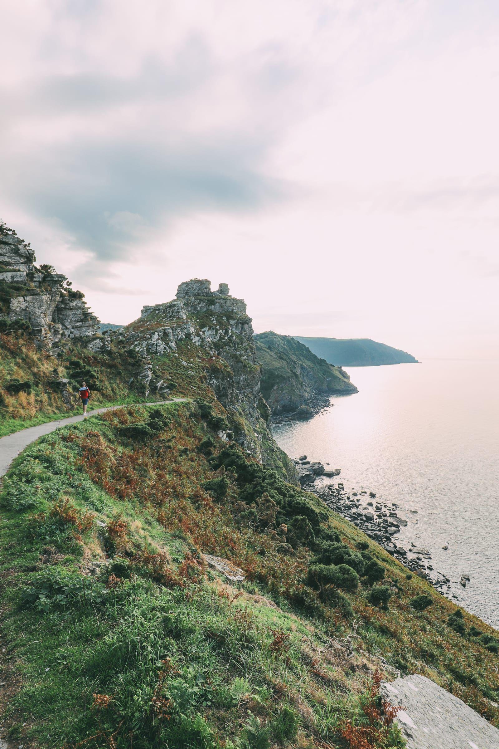 The Absolutely Dramatic Coastline Of Devon England
