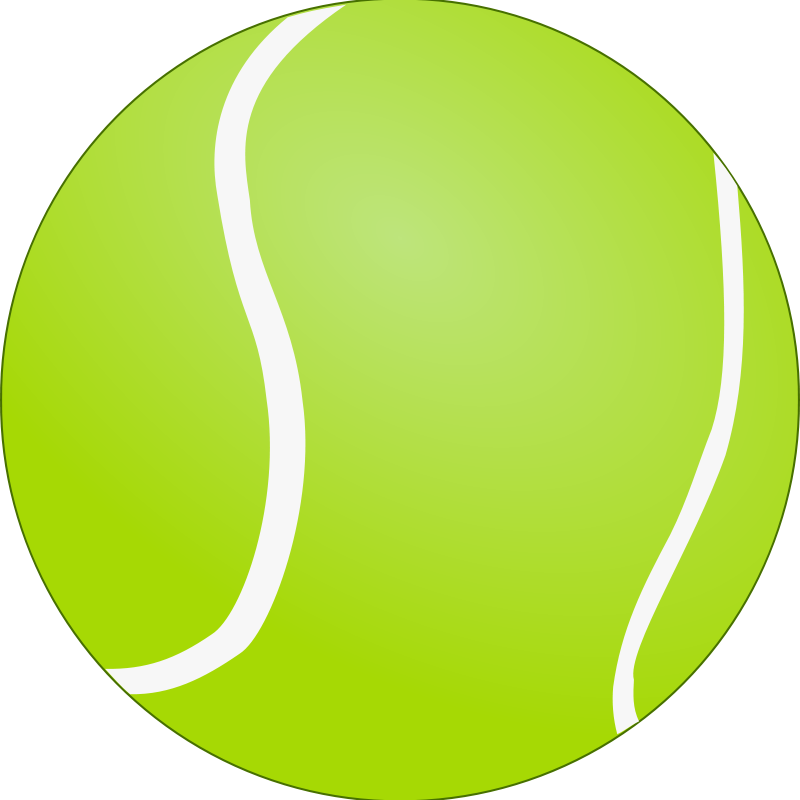 Free Clipart Tennis Ball Bola De Tenis Lunik Clip Art Tennis Ball Vector Free