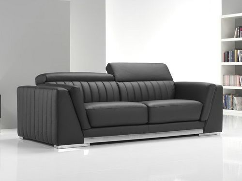 Get A Contemporary Look With Modern Leather Sofa Recliner Luxury
