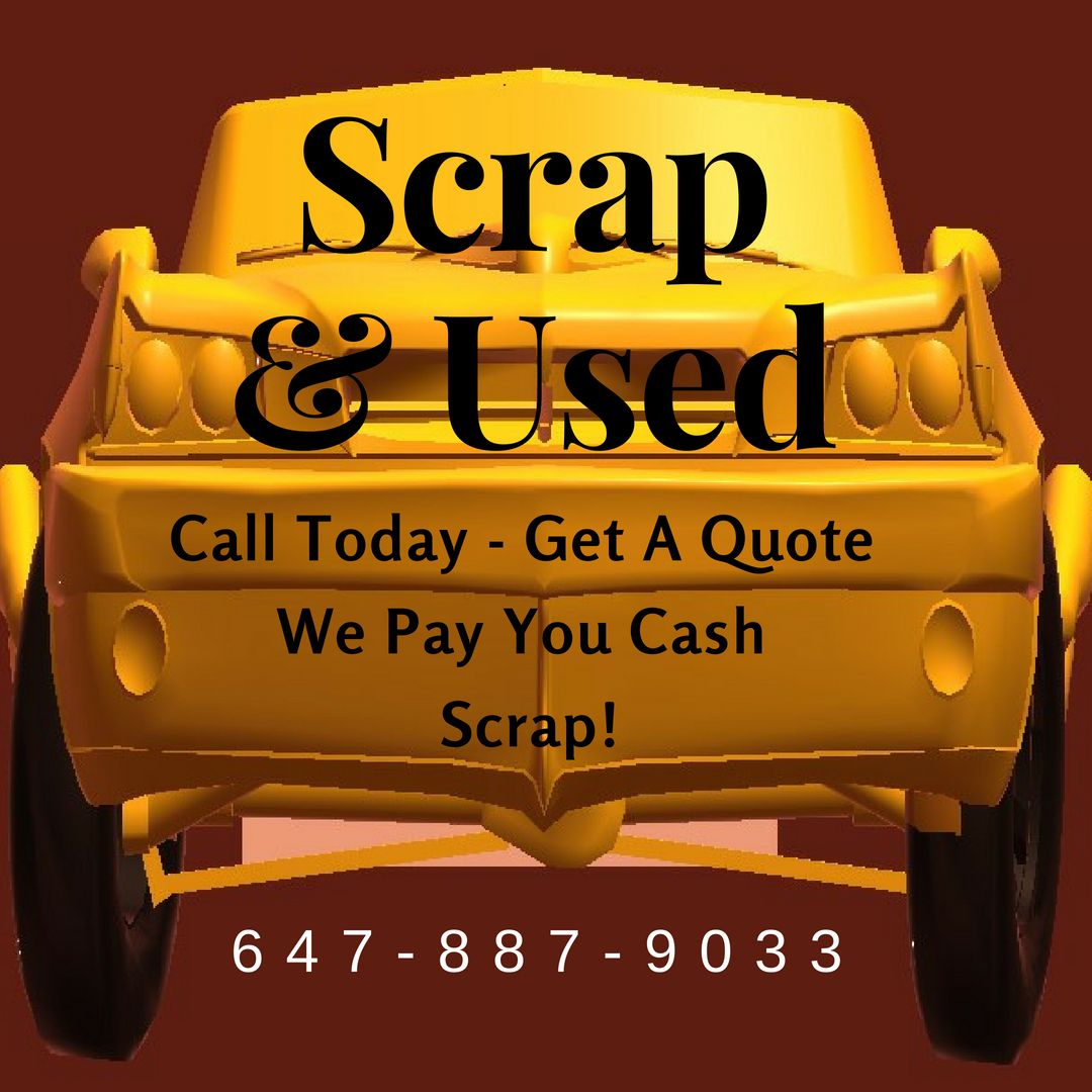 In Ontario We Pay Cash For ScrapCars 6478879033 Barrie