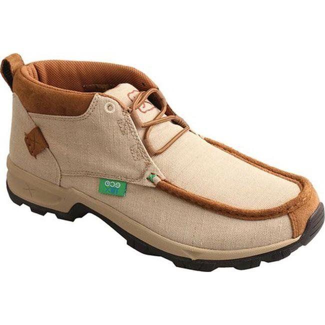 3584e5b092b Twisted X Boots Men's MHK0009 Hiking Shoe Tan Canvas (us men's 13 ...