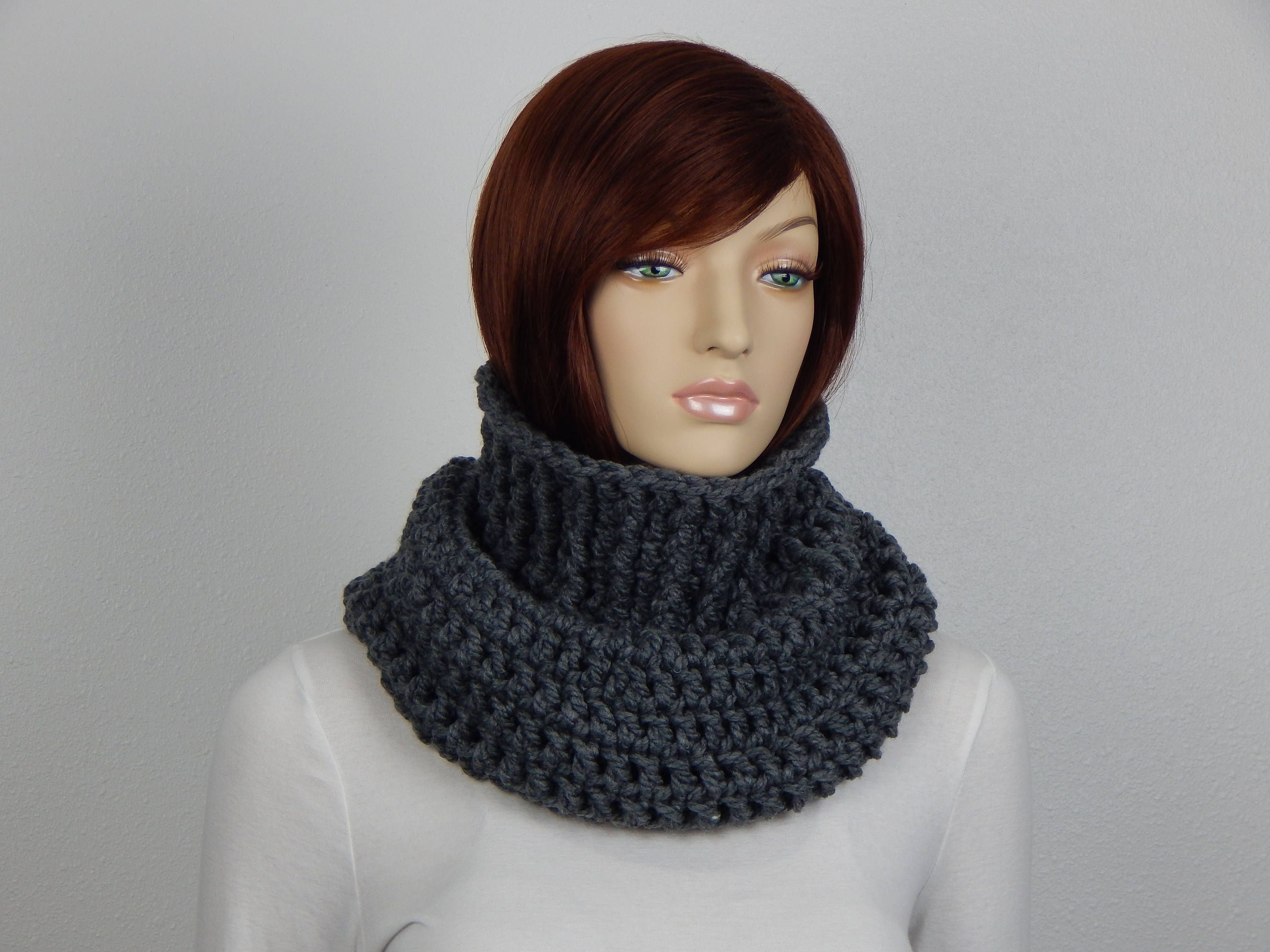 Crochet PATTERN PDF, The Highlands Cowl, Soft Snug Chunky Cowl ...