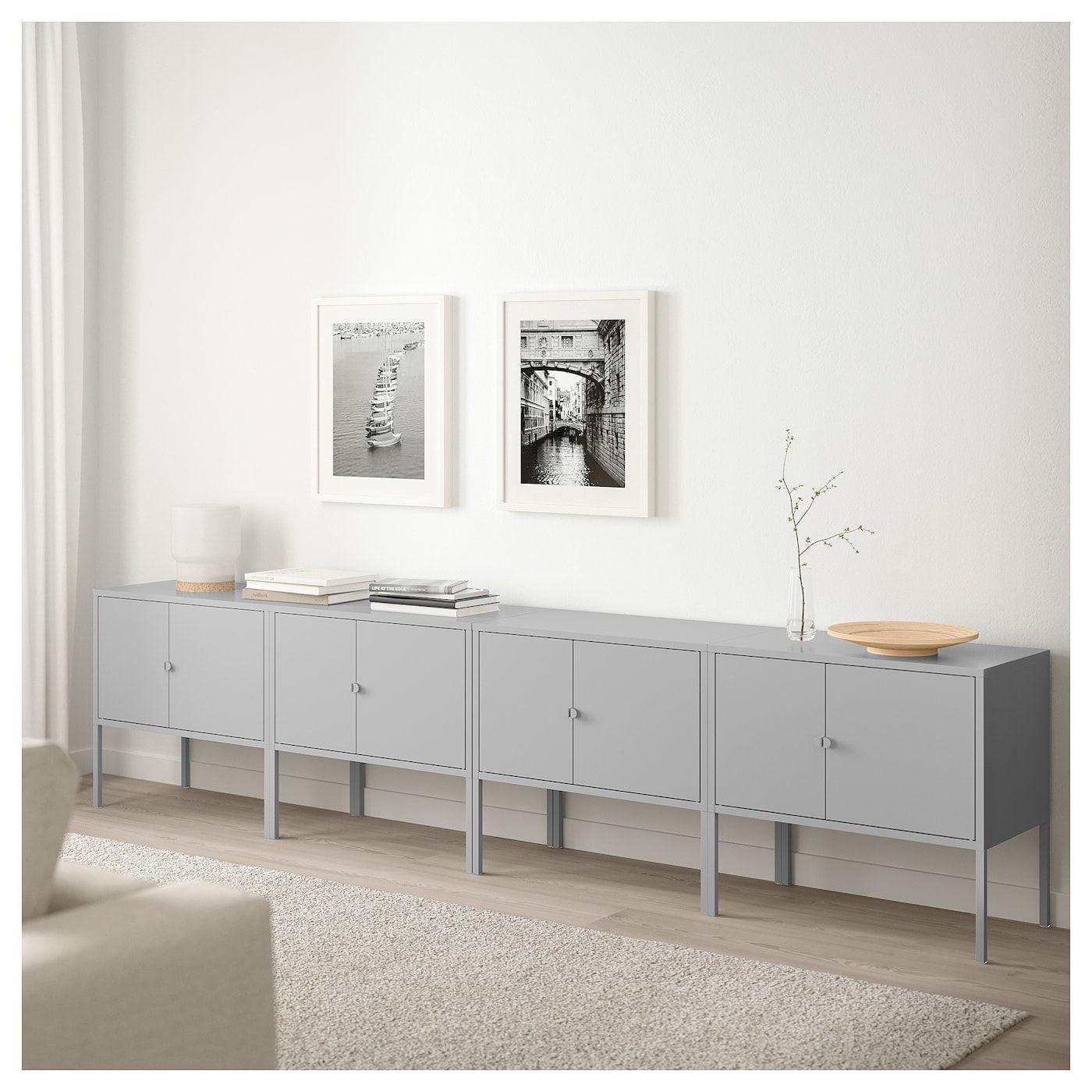Lixhult Storage Combination Gray Ikea