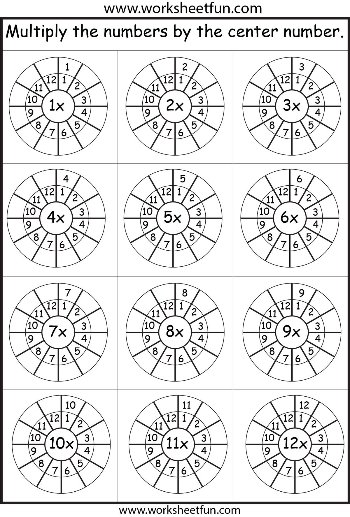 Times table practice | Math | Pinterest | Multiplikation ...