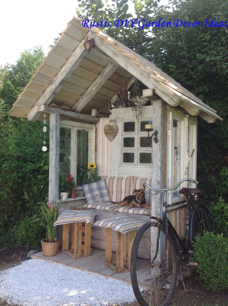Photo of 16 bricolaje creativo y rústico de jardín