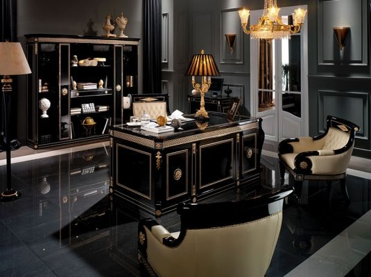 Resultado De Imagen Para Despacho Lujoso Luxury Home Decor Home Decor Uk Home Office Design