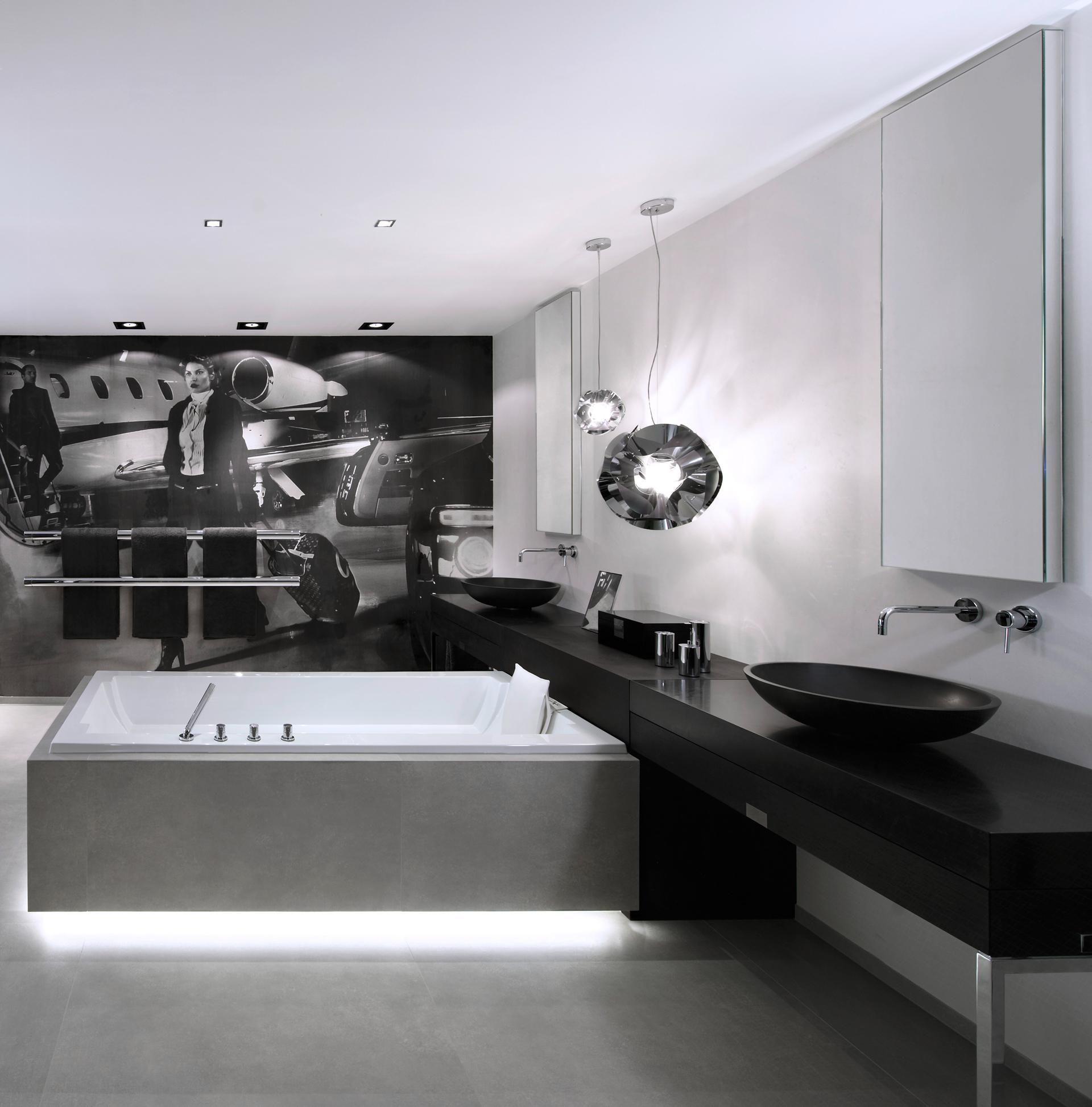 Gessi Emporio Via Tortona Basin Mixer Bathroom