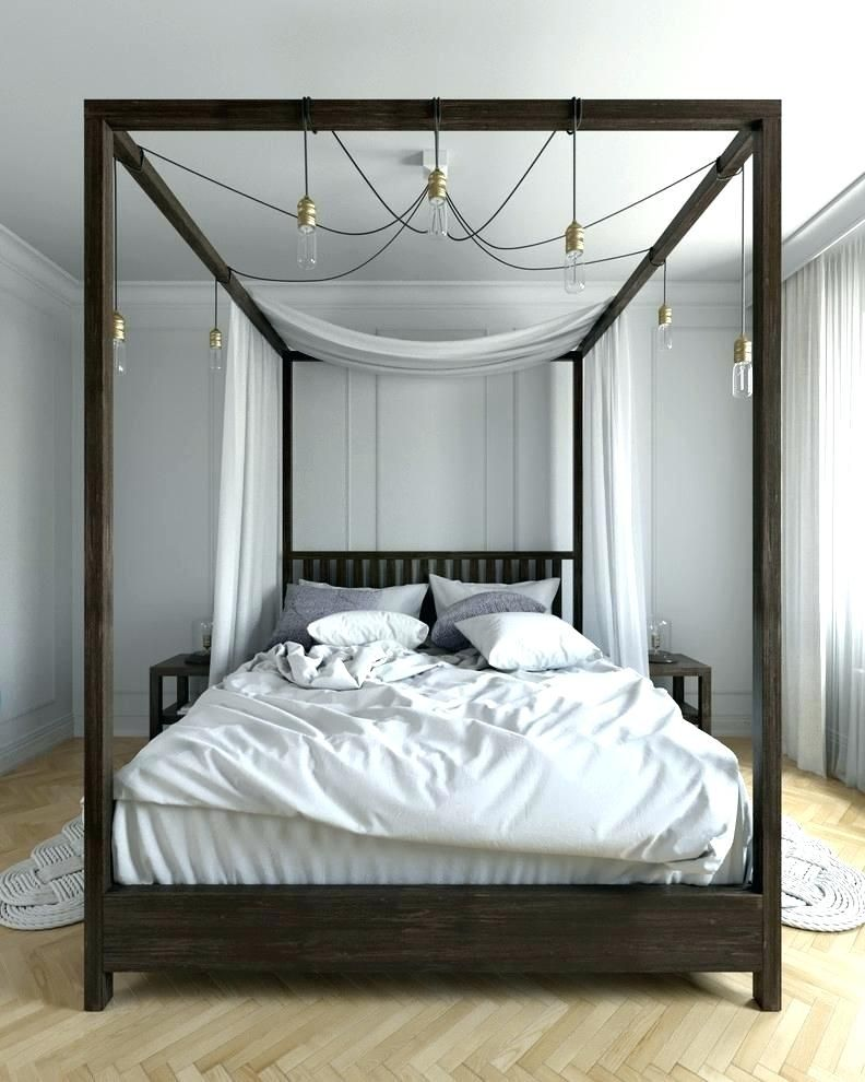 Best Modern Canopy Beds Modern Canopy Bed Brilliant Four Poster 400 x 300