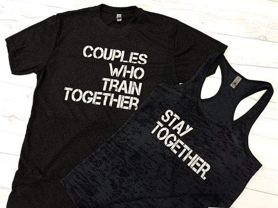 de892177a8e His and Hers Workout Shirts