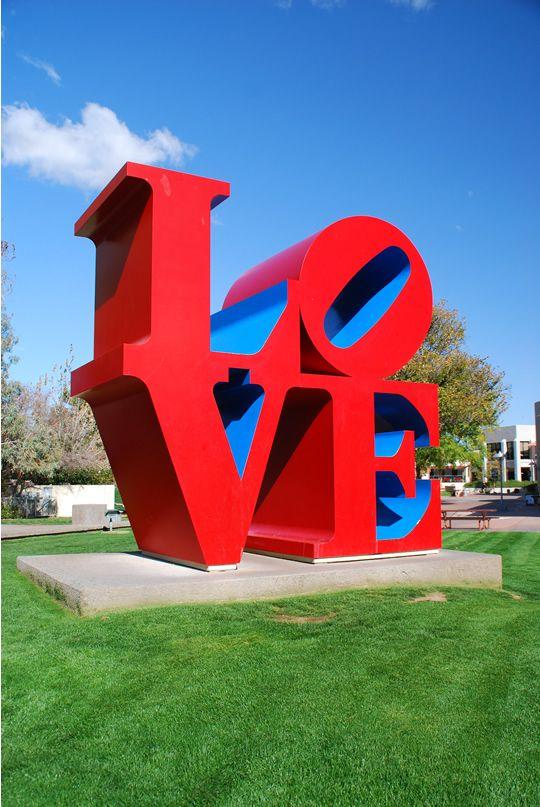 "Love"" by Robert Indiana. Love Sculpture, Scottsdale in Scottsdale ..."
