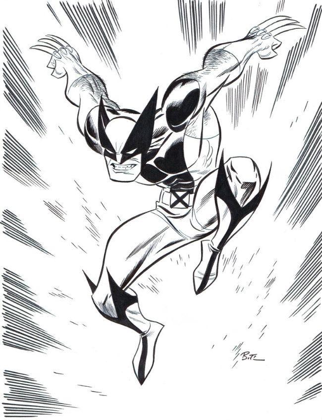 Amazing X Men Photo Bruce Timm Art Marvel Drawings