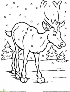 8 Winter Animal Coloring Pages Coloring Pages Winter Coloring Pages Christmas Coloring Sheets