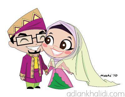 Http Adlankhalidi Com Wp Content Uploads 2011 01 Chibi Cartoon Wedding Malay Jpg Wedding Drawing Drawing Images Cartoon