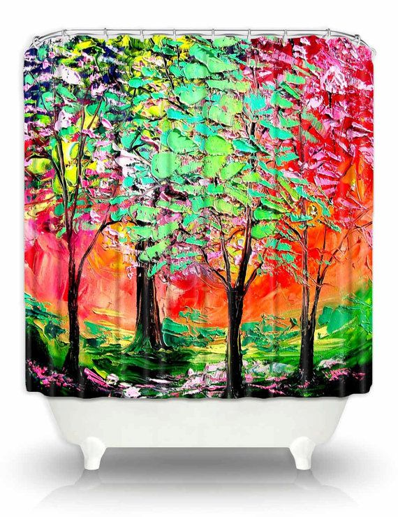 Artistic Shower Curtains By DiaNoche DianocheDesignsDecor 8900 OpenSky Dianochedesigns