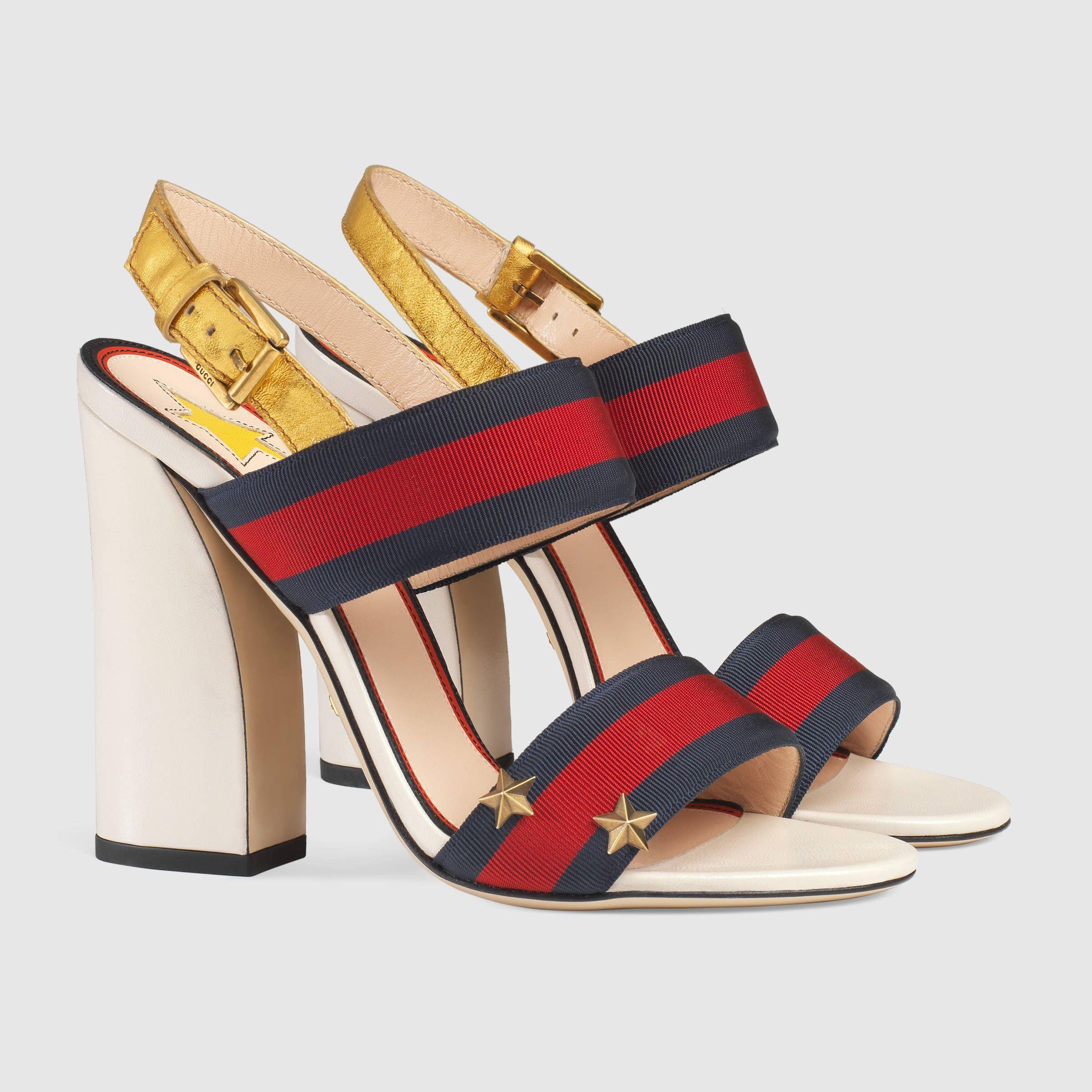 2f961751394 Grosgrain Web sandal - Gucci Women s Sandals 432046H5QF08465