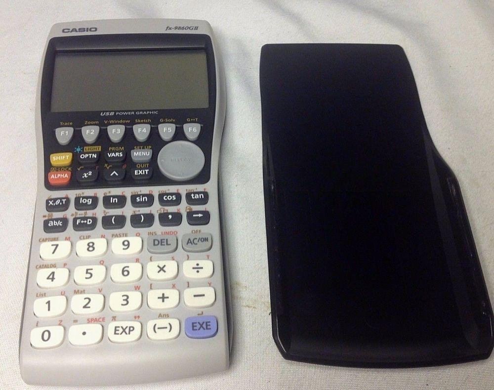 CASIO FX-9860GII Advanced Graphic Calculator