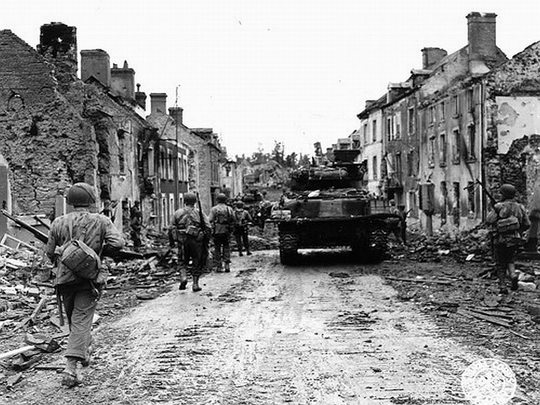 WW2 US Normandy Uniform | St. Fromond, Normandy July 44