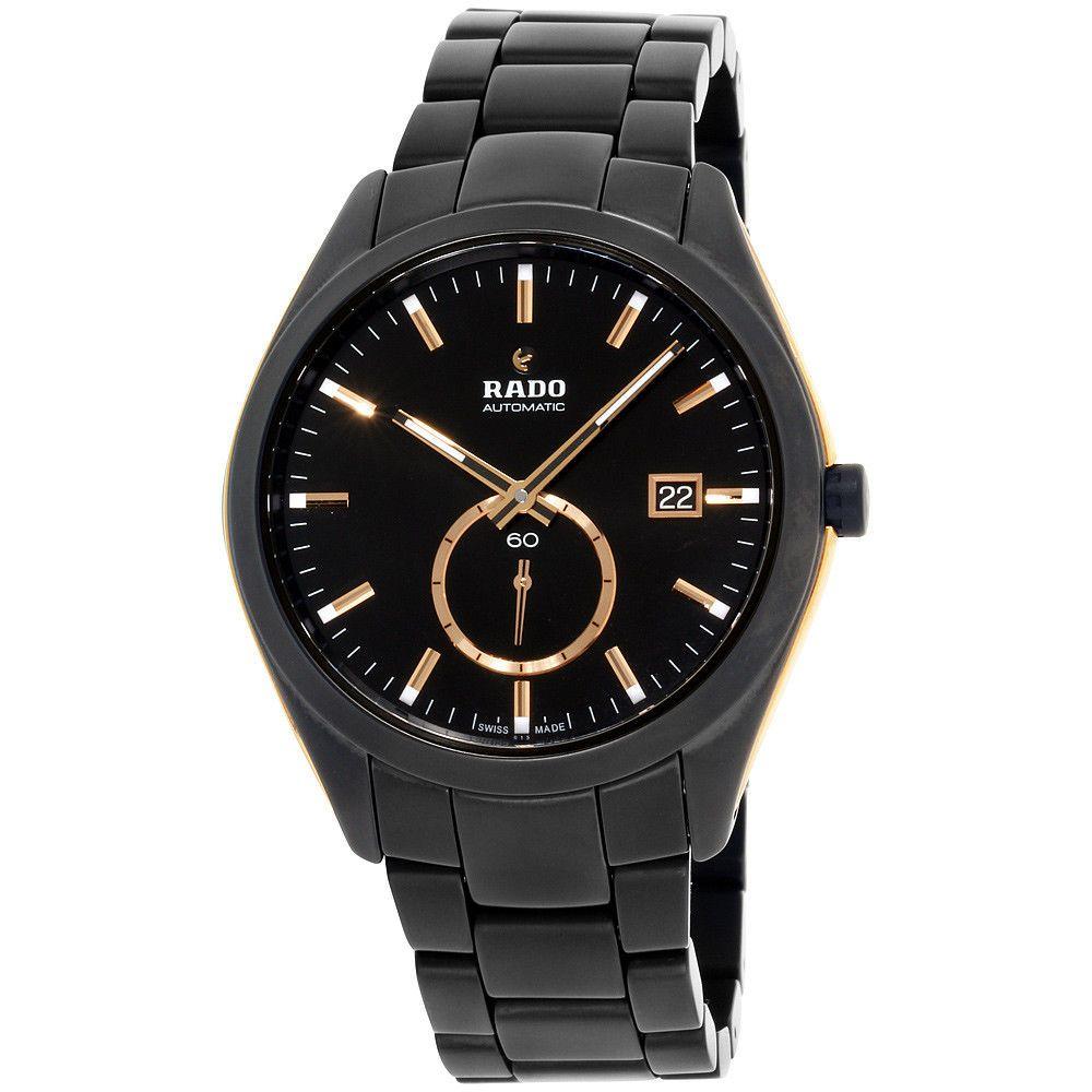 Rado Hyperchrome Black Dial Ceramic Men S Watch R32023152 Rado Watches For Men Watch Bands Men Ceramic Watch